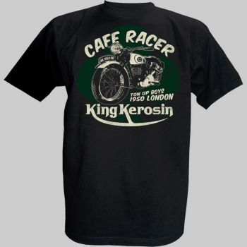 King Kerosin T-Shirt - Cafe Racer