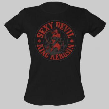 King Kerosin Girls T-Shirt - Sexy Devil