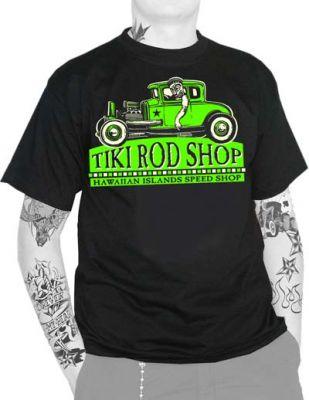 King Kerosin T-Shirt - Tiki Rod Shop