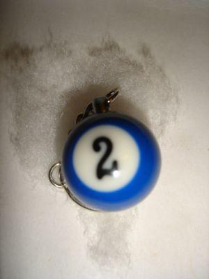 Schlüsselanhänger Billiardkugel PB-02