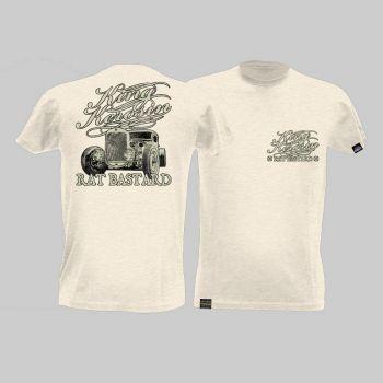 King Kerosin Slub Jersey T-Shirt - Rat Bastard/Tjm2-Rnh