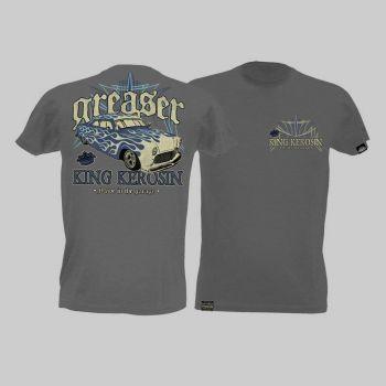 King Kerosin Slub Jersey T-Shirt - Greaser/Tjm1-Rnk3