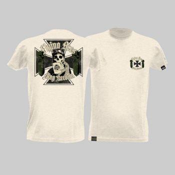 King Kerosin Slub Jersey T-Shirt - Flying Ace/ weiss