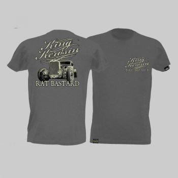 King Kerosin Slub Jersey T-Shirt - Rat Bastard/Tjm1-Rnh