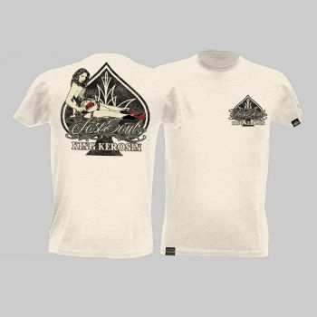 King Kerosin Slub Jersey T-Shirt - Lost Souls/Tjm2-Rns1