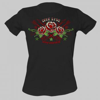 King Kerosin Girls T-Shirt tg-etl