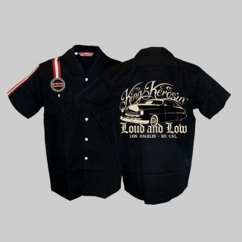 KING KEROSIN Dragstrip Shirt / Loud and Low