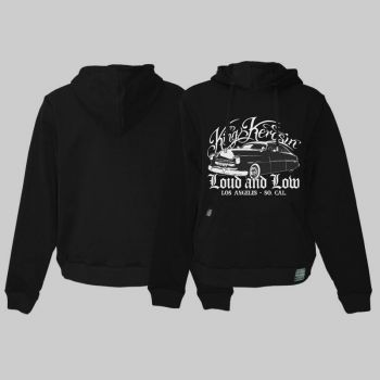 King Kerosin *Limited Edition* Hoodie  / Loud and Low - RNL