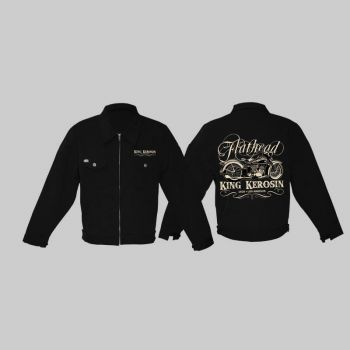 King Kerosin *Limited Edition* Workerjacket - Flathead /  Limited Edition