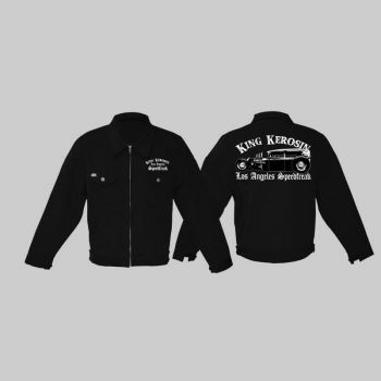 King Kerosin *Limited Edition* Workerjacket - LA Speedfreak / Limited Edition