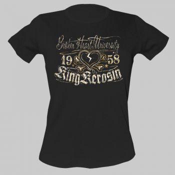 King Kerosin Girls T-Shirt tg-ehu