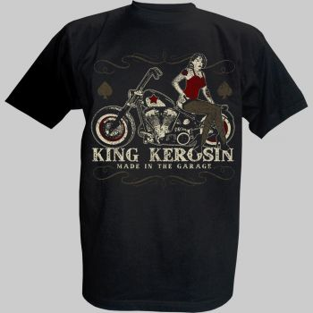 King Kerosin T-Shirt - Made in the Garage