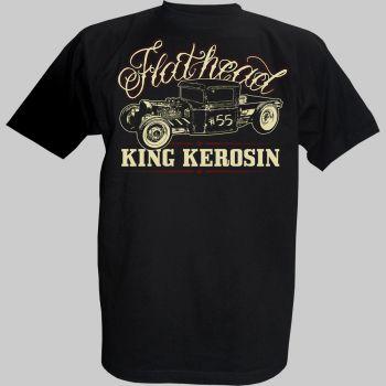 King Kerosin Vintage T-Shirt - Flathead Pickup