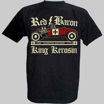 King Kerosin T-Shirt - Red Baron