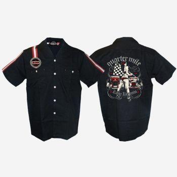 KING KEROSIN Dragstrip Shirt / Quartermile
