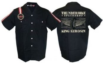 KING KEROSIN Dragstrip Shirt / Flying Wheel