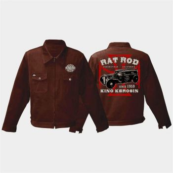 King Kerosin Workerjacket braun - Rat Rod