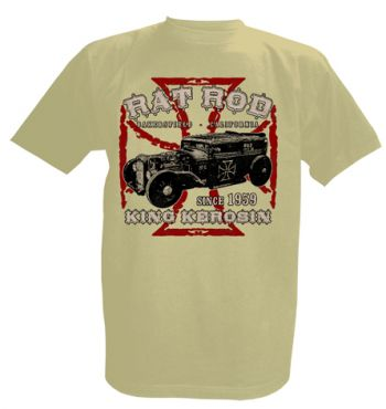 King Kerosin T-Shirt offwhite / Rat Rod