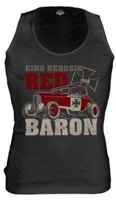 King Kerosin Tank Top - Red Baron
