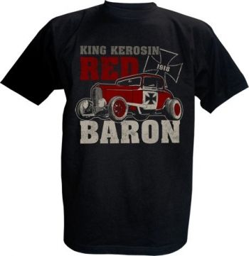 King Kerosin T-Shirt - Red Baron