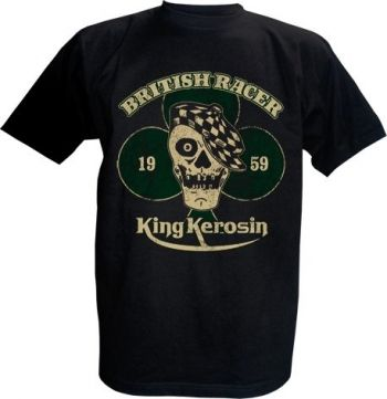 King Kerosin T-Shirt - British Racer