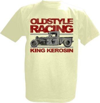 King Kerosin T-Shirt offwhite / Oldstyle Racing