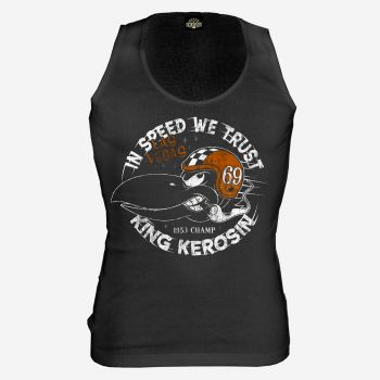King Kerosin Tank Top - In Speed we trust