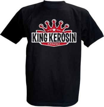 King Kerosin T-Shirt - King Kerosin Logo color