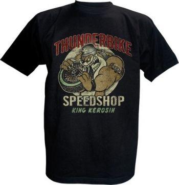 King Kerosin T-Shirt - Dogbite / Thunderbike