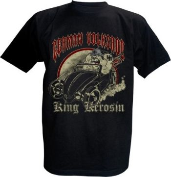 King Kerosin T-Shirt - German Volksrod - Thunderbike
