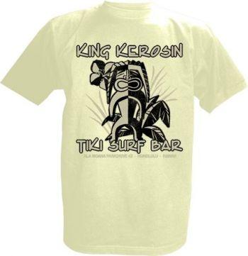 King Kerosin T-Shirt offwhite / Tiki Surf Bar