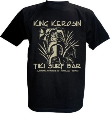 King Kerosin T-Shirt - Tiki Surf Bar