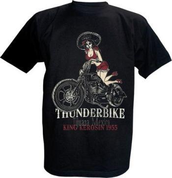 King Kerosin T-Shirt - Tijuna Mexico Thunderbike