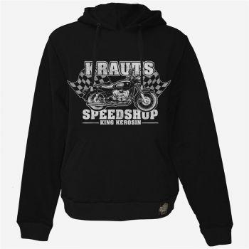 King Kerosin Hoodie Gestickt HS- Krauts Speedshop