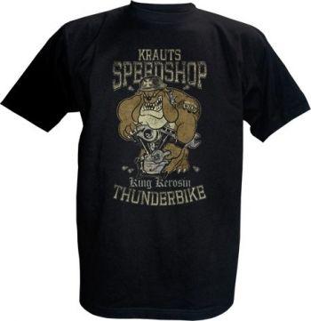 King Kerosin T-Shirt - Krauts Speedshop Thunderbike