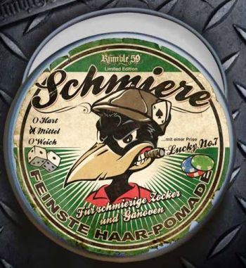 Pomade Rumble 59 - Schmiere / Gambler-Medium / Limited Edition