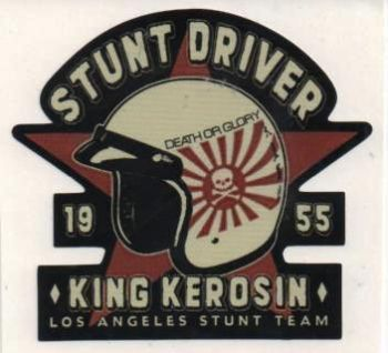 King Kerosin Sticker ST-SDK / Stunt Driver