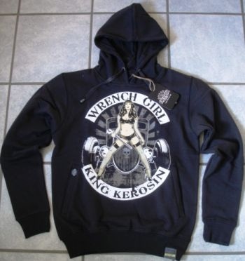 King Kerosin Standard Hoodie  HS - Wrench Girl 2014