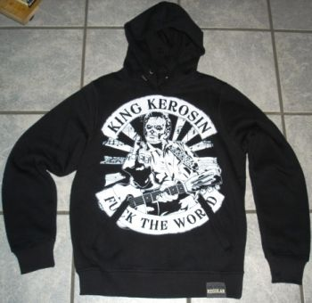 King Kerosin Standard Hoodie  HS-FTW / Fuck the World
