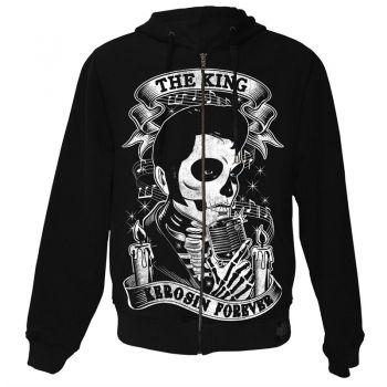 King Kerosin Standard Hoodiejacket - The King Forever