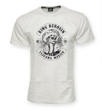 King Kerosin T-Shirt offwhite / Tijuana Mexiko
