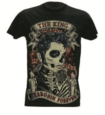 King Kerosin Slub Jersey T-Shirt Tjm - TKF /King Kerosin Forever