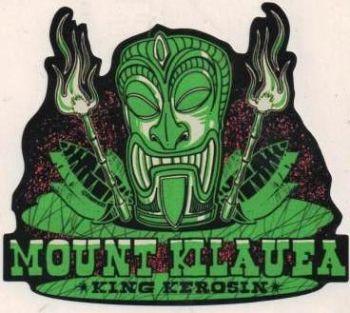 King Kerosin Sticker / Mount Kilauea