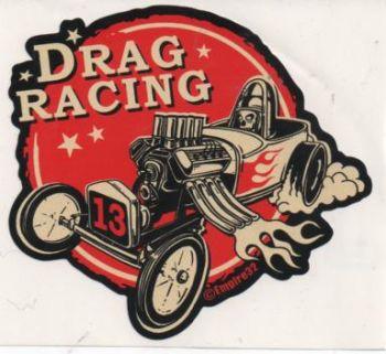 King Kerosin Sticker ST-EDR / Drag Racing