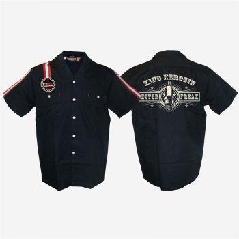 KING KEROSIN Dragstrip Shirt / Motor Freak