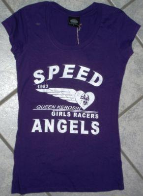 Queen Kerosin Longshirt / Nst5 -QGA / Speed Angel - Lila
