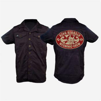 KING KEROSIN Limited Edition RETRO Shirt - Mechanic Crew