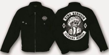 King Kerosin Workerjacket schwarz - Tjiuana Mexico