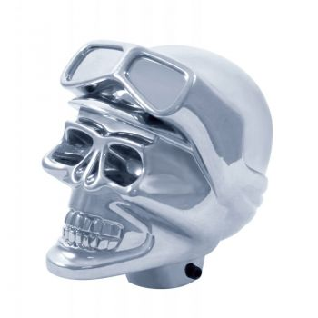 Chrome Skull Biker Schaltknauf - UP 70629B