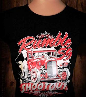 Rumble59 Girls T-Shirt / Shoot out